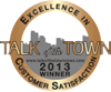 2013 Talk of the Town Award for Customer Satisfaction