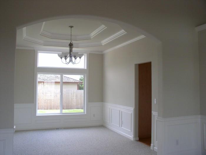 Bon Custom Home Remodeling Vaulted Dining Room Ceiling ...