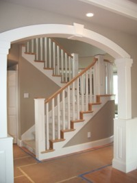 Custom Home Remodeling custom staircase
