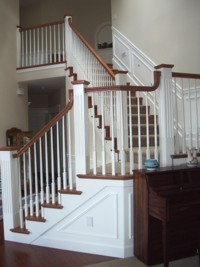 Custom Home Remodeling custom millwork staircase
