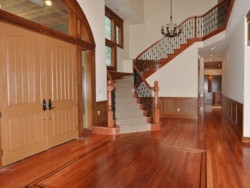 Custom Home Remodeling entry staircase