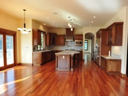 Custom Home Remodeling open style kitchen
